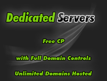 Half-priced dedicated server hosting packages